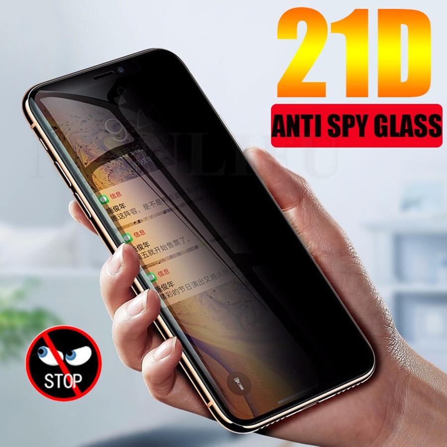 Изогнутое закаленное стекло 21D для Samsung Galaxy Note 20 Ultra S20 S10 Plus S20
