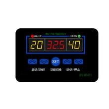 цена на Multi-function Intelligent Digital Display Temperature Controller 12/220V Three Synchronous XH-W1411 Switch -19~99