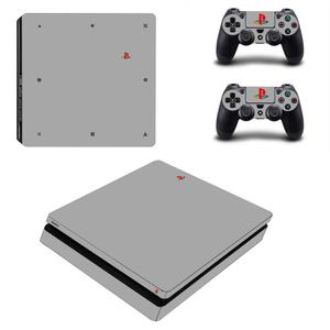 Image 4 - 20 주년 기념 에디션 PS4 슬림 게임 커버 PS4 슬림 스킨 스티커 PS4 슬림 플레이 스테이션 4 및 2 컨트롤러 스킨 데칼