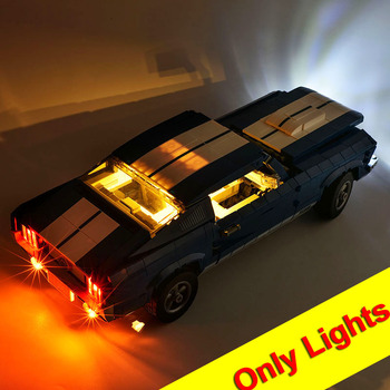 (NOT Include The Model)Lightaling Led Light Kit For 10265 Creator Ford Mustang Building Blocks Compatible 21047 11293 image