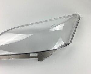 Image 4 - שקוף רכב פנס עדשת זכוכית פגז מנורת אהיל פנס כיסוי לקסוס ES סדרת ES350 2006 2007 2008