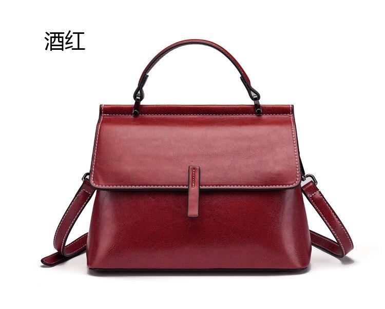 Real couro genuíno bolsas de luxo alta