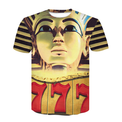 Newest 2020 Brand 3D T Shirt Golden Pharaoh of Egypt Avatar Print Men Women Tshirt Mummy Painting t shirt Tee Tops man dropship