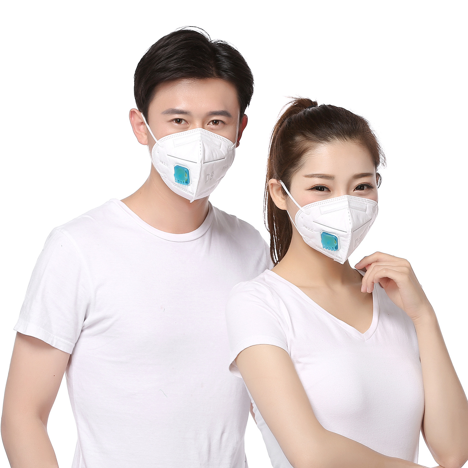 Shield Keep Dust Respirator Anti-Pollen Anti-fog Haze Sun-resistant Disposable Non-woven Fabric PM2.5 Wearing A Face Mask