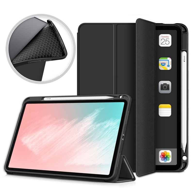 Presell Silicone Case for IPad Air 4 4th Generation 2020 A2316 Cover Stand Support Shell
