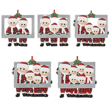 Pendant Hanging-Ornament Christmas-Decoration Personalized Family DIY Lovely