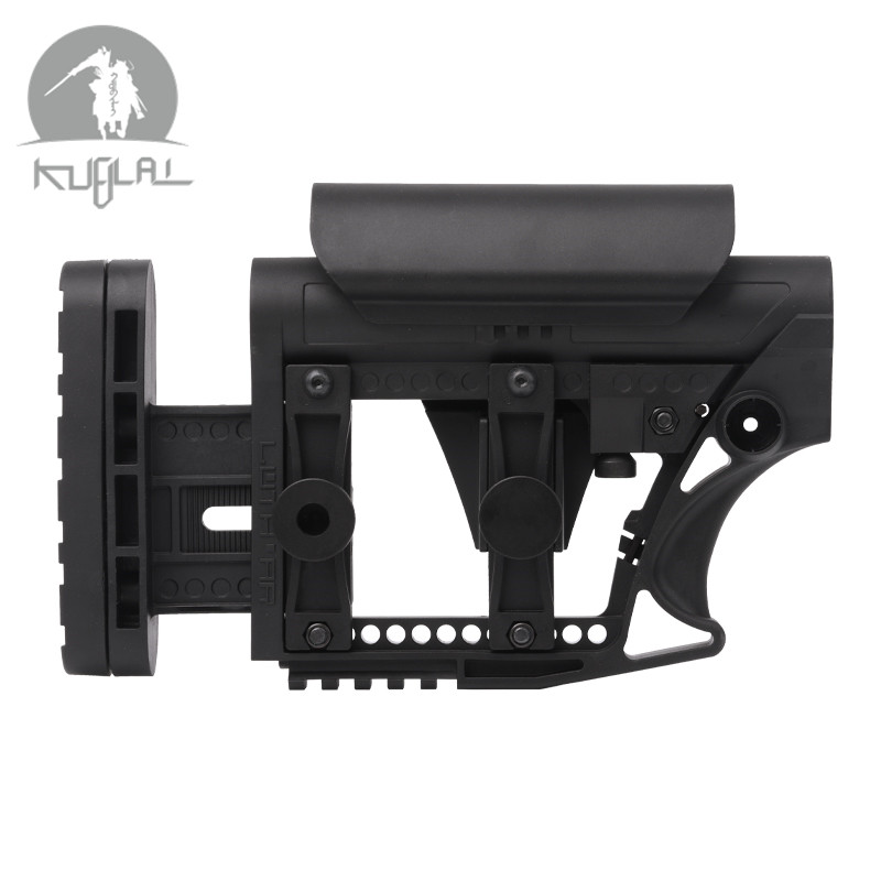 LUTH MBA-3 MBA-4 STYLE Adjustable Extended STOCK For Gel Blaster CS Sports Paintball Airsoft Tactical BD556 Receivers Gearbox