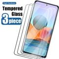 3 шт.! Прозрачное стекло 9H для Redmi Note 10 Pro Max 10S 9 Pro 5G 4G 9S, Защитное стекло для Redmi 5 Plus 5A 6 3 4 3S 3X 4X 4A