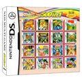 Дракон мячей и Narutom 500 игр в 1 NDS игровой набор карты супер комбо картридж для Nintendo NDS DS 2DS Новый 3DS