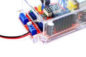 Image 4 - DIY kit Us stecker 110V DIY LM317 Kit mit fall