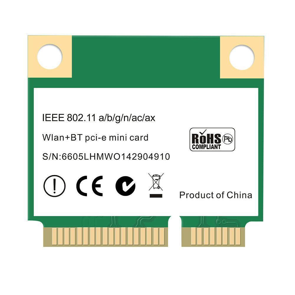 bluetooth 5.0 802.11ax ac 2.4ghz 5ghz adaptador MU-M