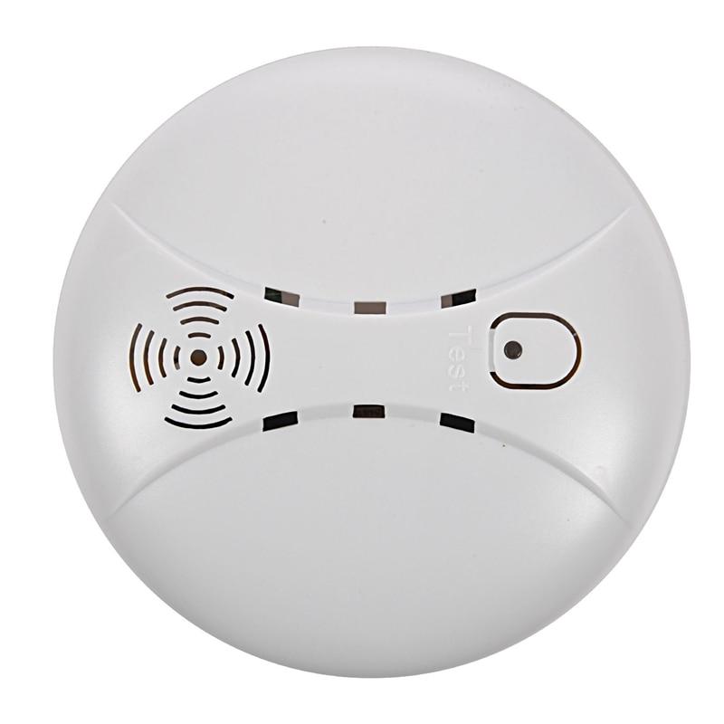AMS-Wireless Fire Smoke Detector WIFI GSM Home Security Smoke Alarm Sensor