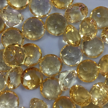 Citrine  Natural Loose Gemstone half round  10beads  8mm Faceted Beads  for Inlaid silver 925 jewelry  Making  Ring  DIY  ICNWAY sapphire natural loose gemstone oval 7x9mm faceted beads for inlaid silver 925 jewelry making ring necklace diy icnway