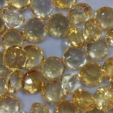 цена Citrine  Natural Loose Gemstone  round  8mm Faceted Beads  for Inlaid silver 925 jewelry  Making  Ring  Necklace DIY  ICNWAY онлайн в 2017 году