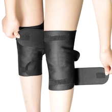 1 Pair Tourmaline Self-heating Knee Protector Magnetic Therapy Protective Belt Arthritis Brace Supports
