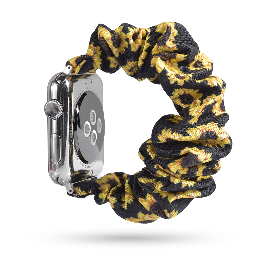 Scrunchie Elastic Watch Band Compatible For Apple Watch Band 38mm/40mm 42mm/44mm Strap For Iwatch 5 4 3 2 1 Wrist Bracelet