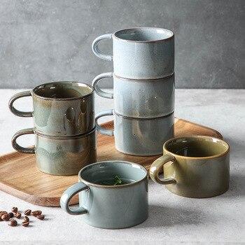 Taza de café Vintage, taza de cerámica, tazas, tazas creativas de taza...
