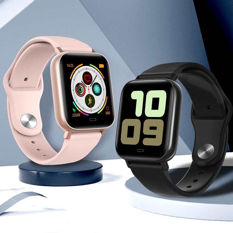 Smart Watch Men Women IWO 20 Heart Rate IP67 Waterproof Swimming Blood Pressure Fitness Tracker G20 Smartwatch Sports Wristband(China)