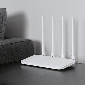 Image 5 - Xiaomi Mi WiFi yönlendirici 4C 64MB 300Mbps 2.4G 4 antenler akıllı APP kontrolü yüksek hızlı kablosuz yönlendirici wiFi tekrarlayıcı ev ofis için