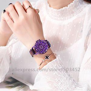Image 4 - 100 adet/grup 103020 sıcak satış hiçbir Logo manyetik izle toptan kadınlar kız Lady saat kadınlar için moda bayan izle