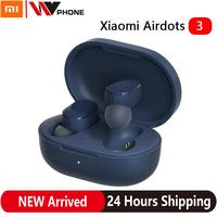 AirDots 3 Mi Bluetooth inalámbrico verdadero 5,2 auriculares estéreo Auto enlace inteligente usar Touch Control Apt-X de auriculares