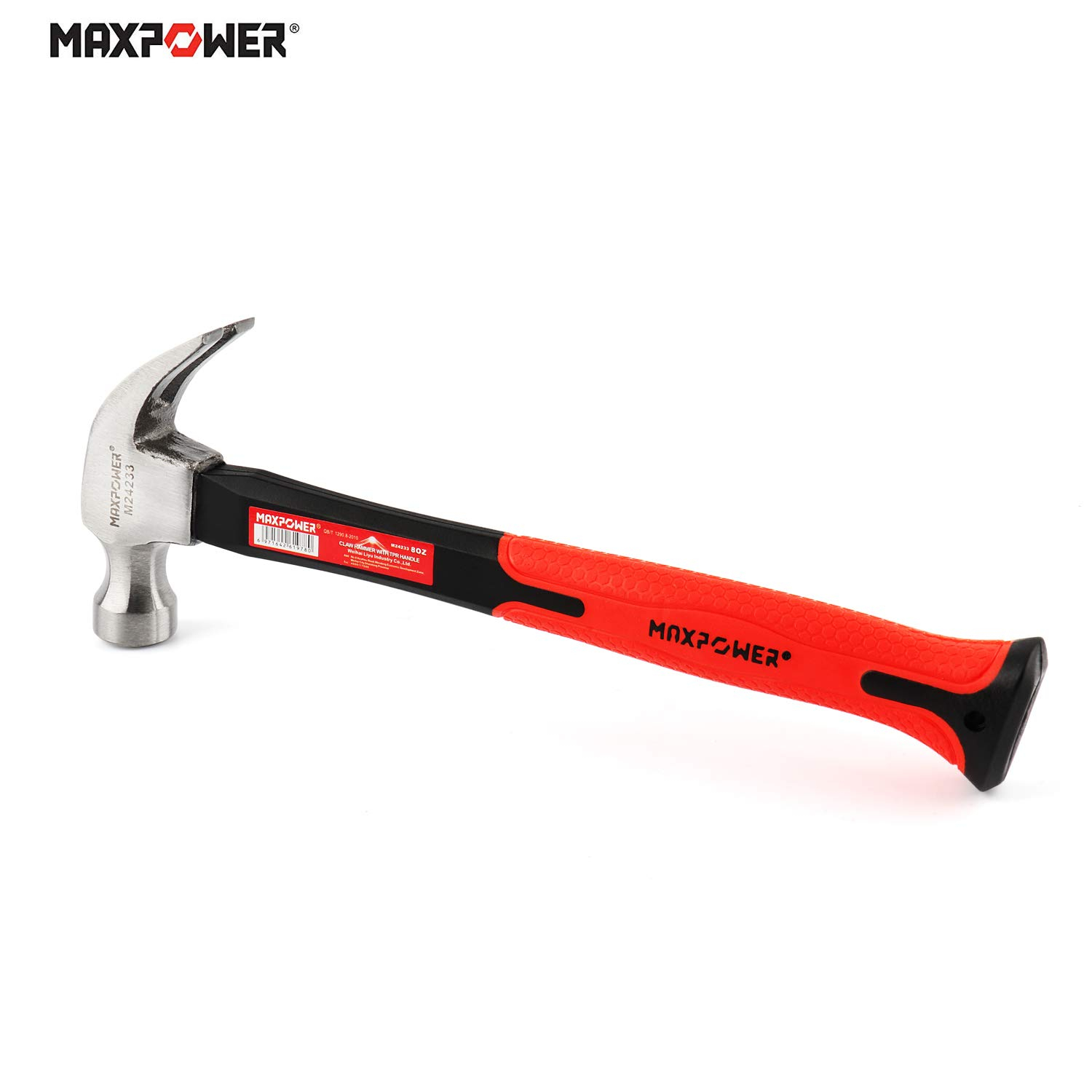 295mm Claw Hammer Professional Woodworking Joinery Home Carpentry Hand Hammer Nail Hammer Non-slip Multi-function Handle Hammer