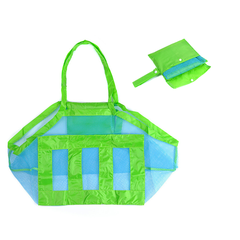 Vogvigo Anti Sand Beach Towel Bag Mesh Travel Storage Bag Organiser Case Child Kid Toy Place Hot Toiletry Beauty Kit image