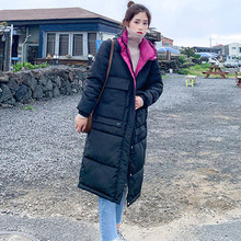 Winter Jacket Women 2019 Outerwear Coats Female Casual Light Warm Long Parka Branded Clothing Kurtka Zimowa Damska