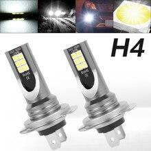 2pcs H4 LED Headlight Bulb Beam Kit 50W High Power LED Car L