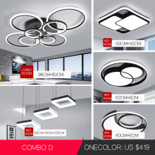 VVS Led-Light Led-Ceiling-Chandelier-Lighting Circle Bedroom Living-Room Modern Simple