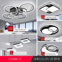 LED Decke Kronleuchter Beleuchtung VVS Moderne Einfache Runde Mode Kreis led Licht Wohnzimmer Esszimmer Study Room Schlafzimmer