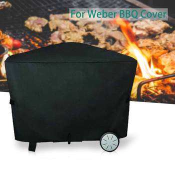 BBQ Grill Cover for Weber Q2000 Q3000 BBQ Cover Outdoor Barbecue Accessories Dustproof Waterproof Rain Protective Covers недорого