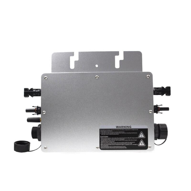 700W Micro Solar Inverter Single/Drei Phase MPPT Auf Grid Tie Inverter Reine Sinus Welle 22-50VDC zu 110 /220VAC für 2*350W Panel