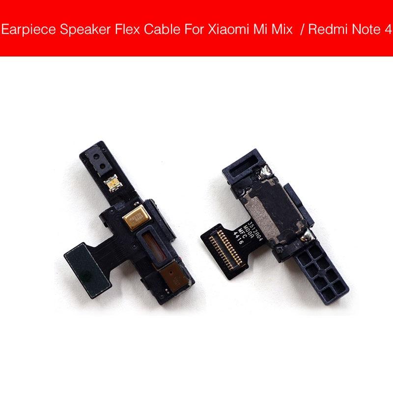 Earphone Speaker Proximity Light Sensor Flex Cable For Xiaomi Mi Mix/Redmi Note 4 Earpiece Speaker Sound Receiver Flex Cable