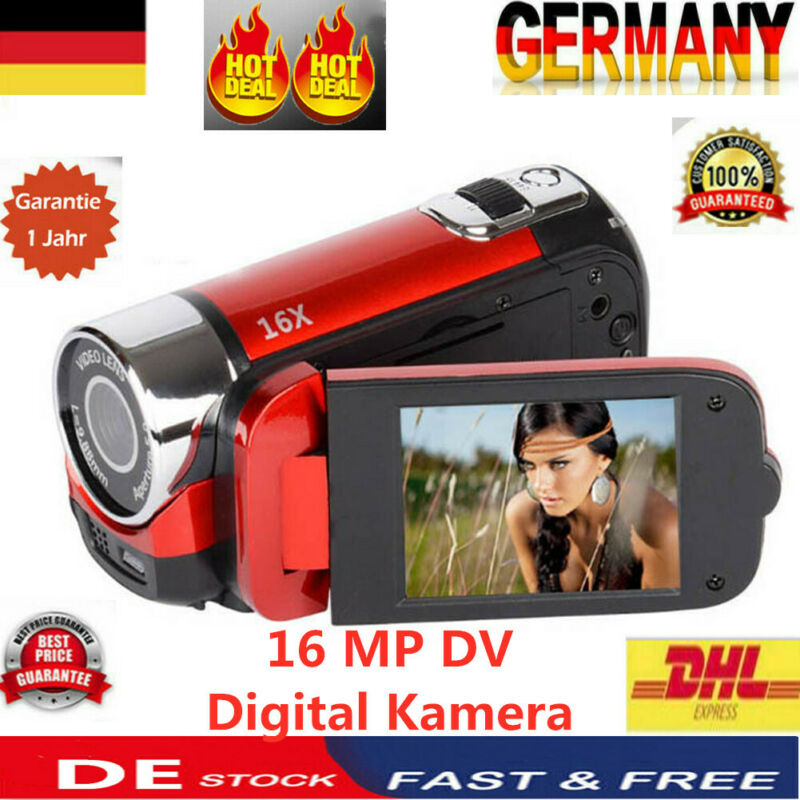 1080P HD Unterwasserkamera <font><b>16</b></font> <font><b>MP</b></font> Video DV Recorder Dual-Screen-Digital Kamera image