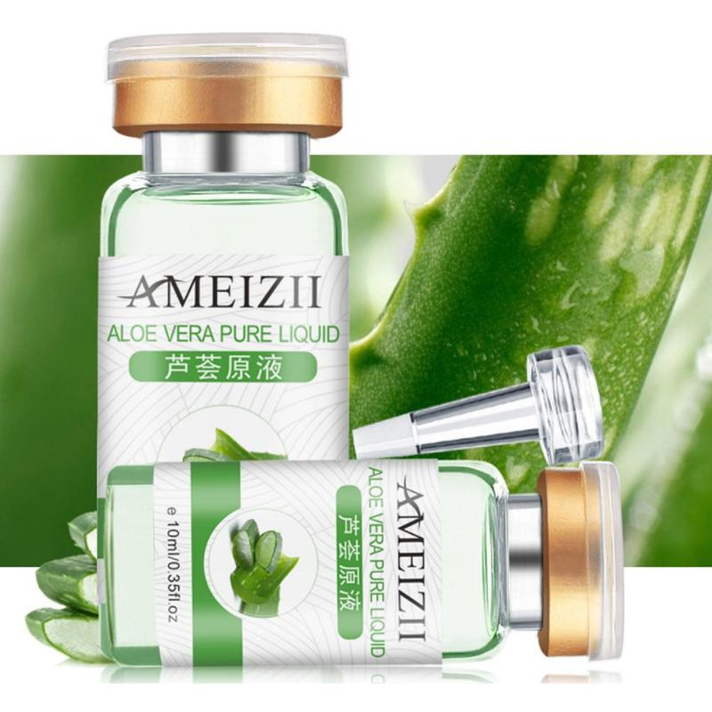 Ameizii Face Serum Olive Facial Pure Hyaluronic Acid Whitening Repairing Lifting Firming Skin Care Vitamin Collagen Essence