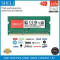 Оперативная память для ноутбука SHELI  ОЗУ 4 Гб  1RX8  DDR3  1333 МГц  204pin  1 5 В  CL11  SODIMM