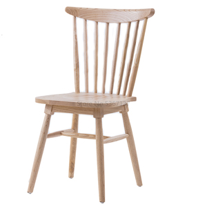 Solid Wood Chair Specials Home Log Simple Study Dining Room Chair American Retro Windsor Chair Nordic Chair -