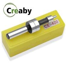 Buscador de bordes mecánicos CE420, 10MM, para máquina de torno para laminado, Sensor de punto táctil, incluye fresa con caja