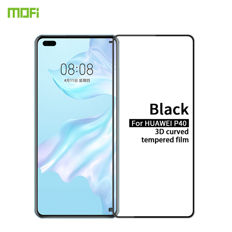 MOFI For <font><b>Huawei</b></font> P40 <font><b>P30</b></font> <font><b>Pro</b></font> Mate RS 30 20 <font><b>Pro</b></font> Tempered <font><b>Glass</b></font> 3D Curved Full Screen Coverage Tempered <font><b>Glass</b></font> Screen <font><b>Protector</b></font> image