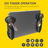 Gamepad PUBG Ipad Trigger Controller di Gioco di Capacità L1R1 Fuoco Obiettivo Tasto del Joystick Per Ipad Tablet Telefono Accessori del Gioco