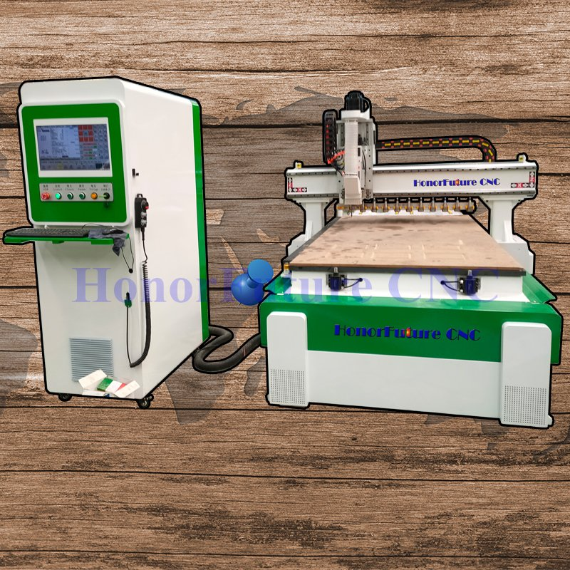 Cnc Router 1325 Act Woodworking Machine 1325 Atc Drilling Holes