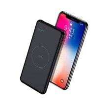 Slim Poverbank 10000mAh Qi Wireless Charger Power Bank External Battery Fast Wireless Charging Powerbank for Xiaomi mi 9 iPhone стоимость