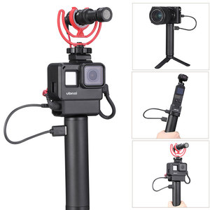 Image 5 - Hand Grip Battery For Gopro Hero 7 6 5 5200mAh Battery Charger Power Bank Grip Handheld Monopod Selfie Stick for Action Camera