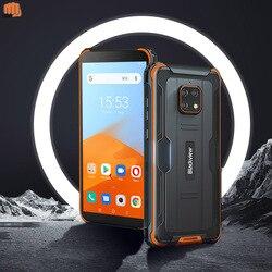 Blackview BV4900 5580 мА/ч, 5,7 дюймов телефон NFC Android 10 прочный Водонепроницаемый смартфон 3 ГБ + 32 ГБ IP68 мобильный телефон