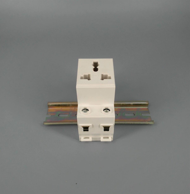 H655337183d5d47dbb594ae6331cabc30J - AC30  3 Pin Plug 35mm Din Rail Mount Modular socket 10-16A 250V