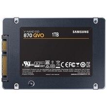"SSD SAMSUNG 870 QVO 2.5 ""내장 솔리드 스테이트 드라이브 SSD 1 테라바이트 HDD 2.5 sata III 노트북 데스크탑 PC 하드 드라이브"