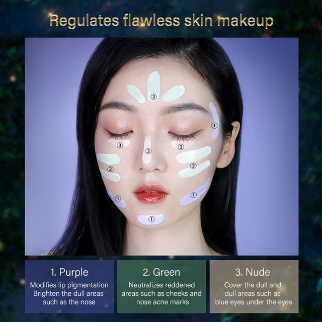 ZEESEA x British Museum Alice in Wonderland Face Makeup Base Foundation Cream 6