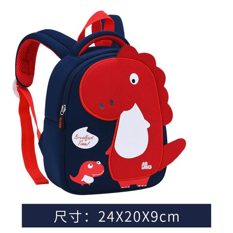 Children Toddler Kid Boy Girl 3D Cartoon Animal Backpack Kindergarten School Bag