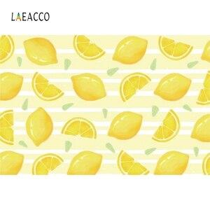 Image 2 - Laeacco פירות חנות לימון עגלת קינוח תינוק מקלחת יילוד צילום רקע צילום תפאורות Photozone תמונה סטודיו